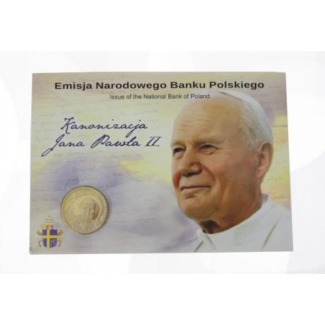 2 zł, Kanonizacja Jana Pawła II - blister