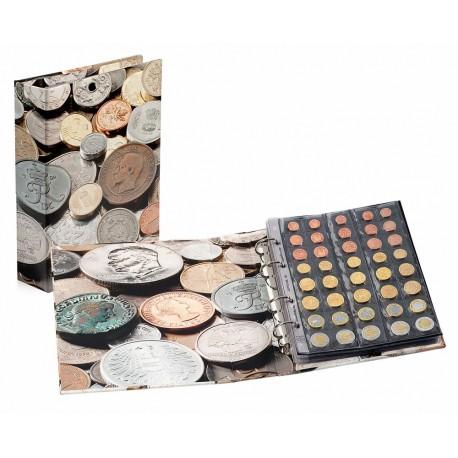 """Album OPTIMA """"Coins"""" Leuchtturm + 5 koszulek na monety"""