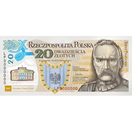 20 zł, 100. rocznica utworzenia Legionów Polskich