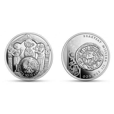 10 zł Brakteat Mieszka III - Historia Monety Polskiej