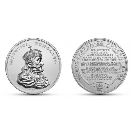 50 zł Skarby Stanisława Augusta – Ludwik Węgierski
