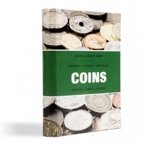 Album kieszonkowy na 48 monet o średnicy do 33 mm