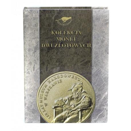 Album na 270 monet 2 zł i 60 monet 5 zł, twarda oprawa