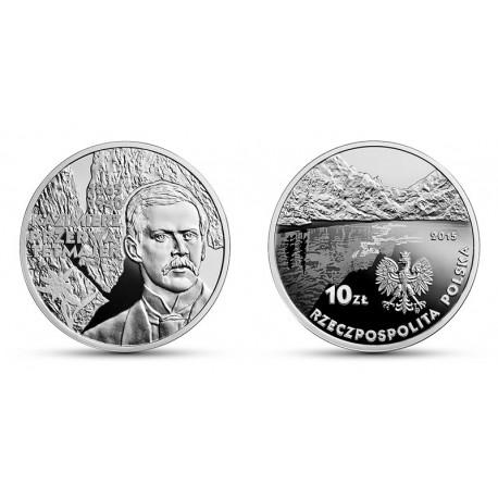 10 zł 150. rocznica urodzin Kazimierza Przerwy-Tetmajera