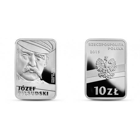 10 zł 100-lecie odzyskania niepodległości - Piłsudski