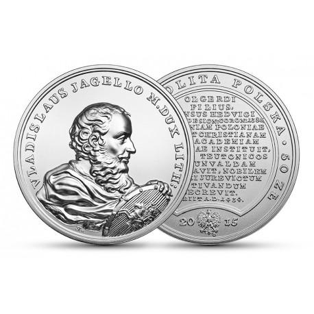 50 zł Skarby Stanisława Augusta – Władysław Jagiełło