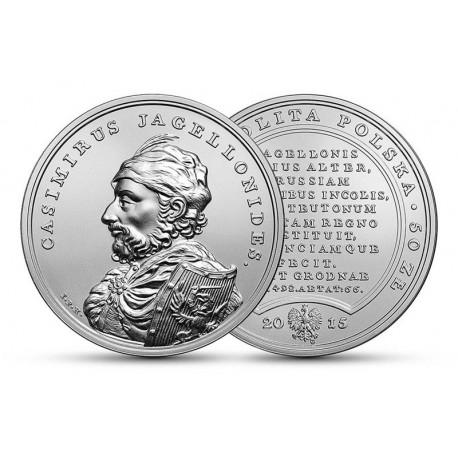 50 zł Skarby Stanisława Augusta – Kazimierz Jagiellończyk