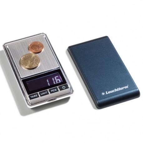 Cyfrowa waga firmy Leuchtturm Libra 100 od 0,01 g do 100 g