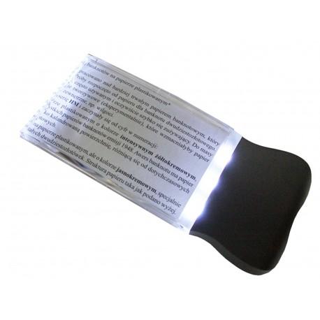 Lupa z powiększeniem x2 ze zintegrowaną lampą LED