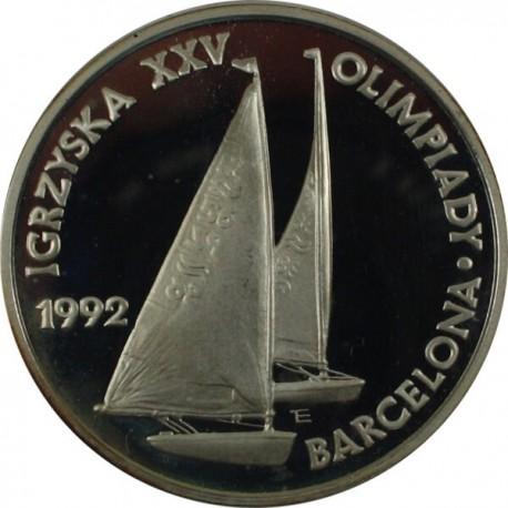 200 000 zł, Igrzyska XXV Olimpiady Barcelona Żaglówki 1992