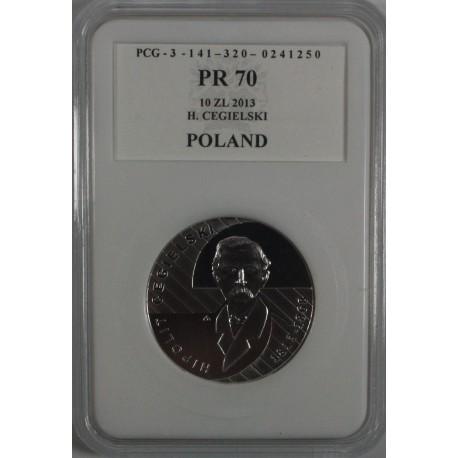 10 zł, Hipolit Cegielski, 2013, PR70