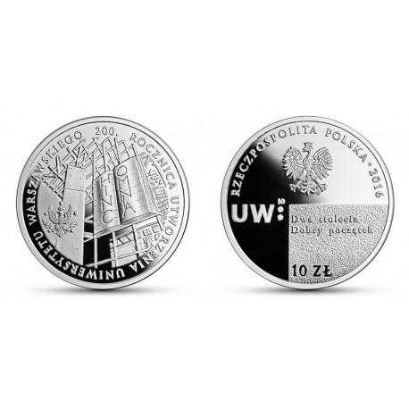 10 zł, 200. rocznica utworzenia Uniwersytetu Warszawskiego