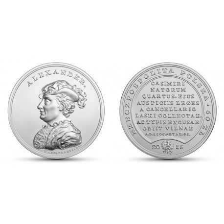 50 zł, Skarby Stanisława Augusta – Aleksander Jagiellończyk