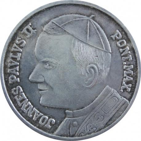 Pamiątkowy medal, Jan Paweł 2 + Pieta