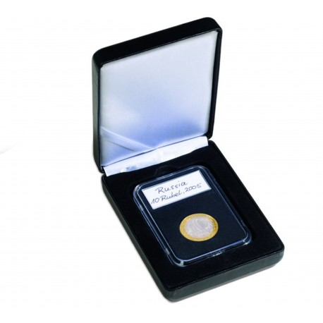 Etui na monetę w slabie (po gradingu) w skórze EKO