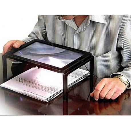 Lupa - stolik do czytania x3, z podświetleniem 4x led