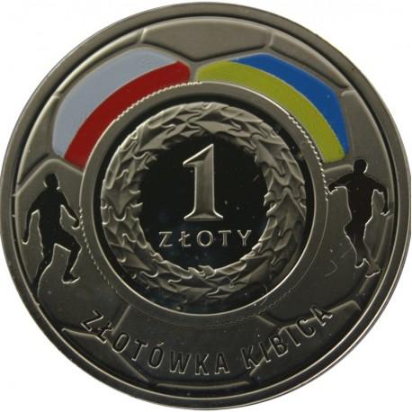 1 zł, złotówka kibica, Mistrzostwa Europy w Piłce Nożnej 2012