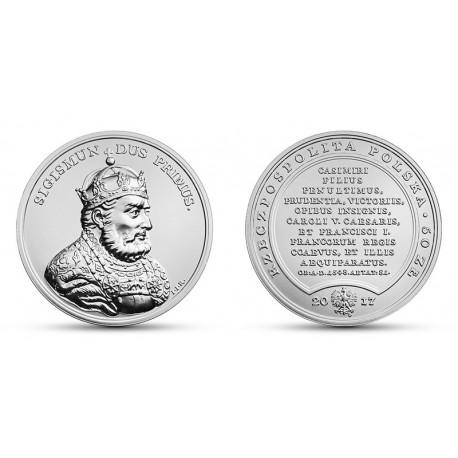 50 zł, Skarby Stanisława Augusta - Zygmunt I Stary