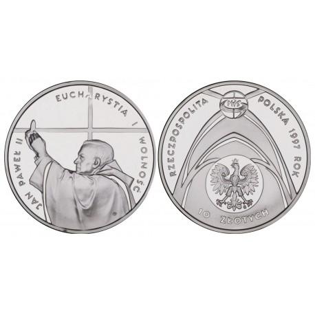 10 zł, Jan Paweł II - Kongres Eucharystyczny