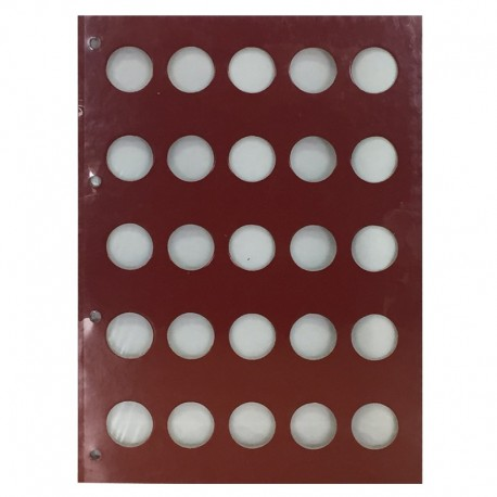 Karta rocznikowa - czysta do monet 2 GN, 1996-2014