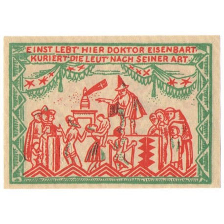 50 Pf banknot zastępczy Magdeburg 1921