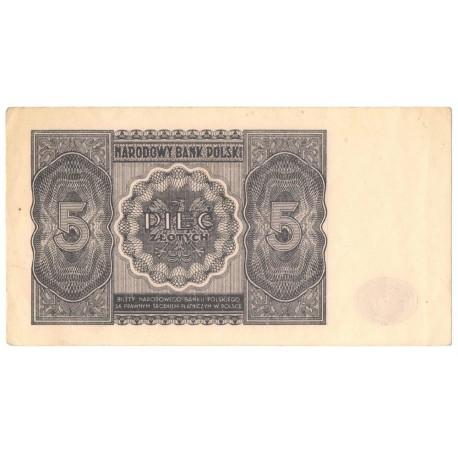 5 zł, 1946, stan 2-