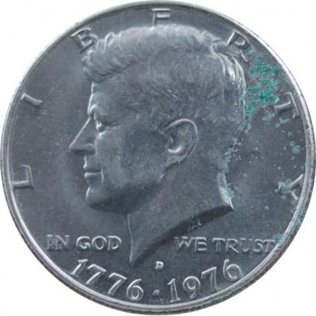 1/2 half dollar Kennedy 1776-1976