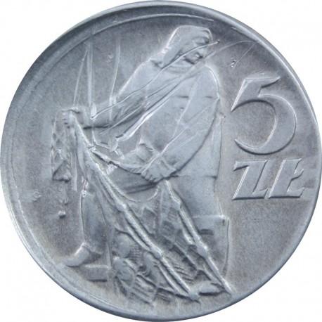 DESTRUKT 5 zł Rybak 1960, 2+