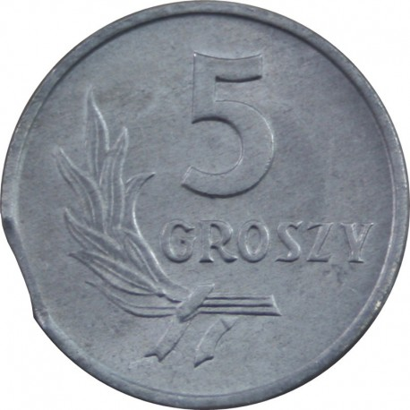 DESTRUKT 5 groszy 1972 stan 1