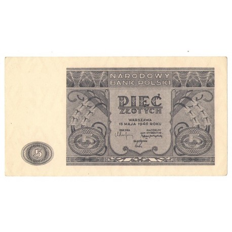 5 zł, 1946, stan 2