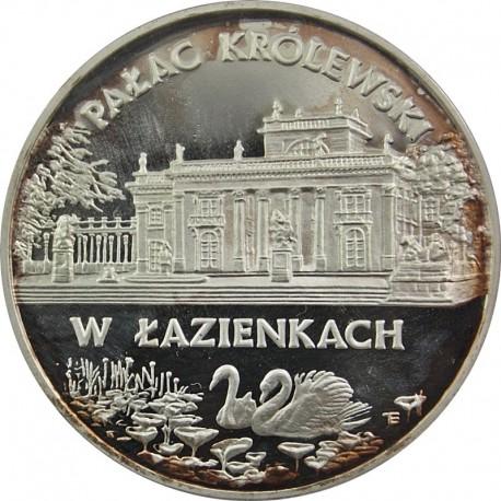 20 zł, Pałac Królewski w Łazienkach, nalot / patyna