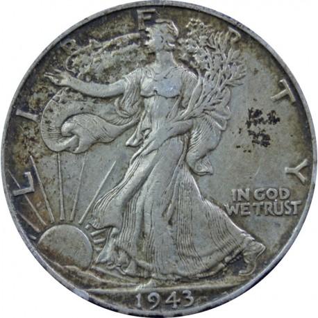 1/2 Dollara, Liberty 1943