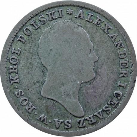 Królestwo Polskie (Kongresowe) r. 1825, 2 złote