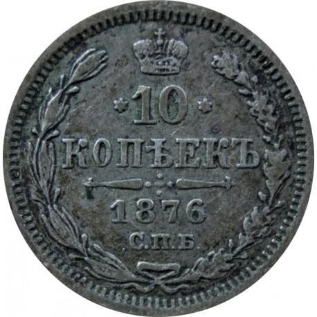 10 kopiejek 1876, st. 2, Rosja