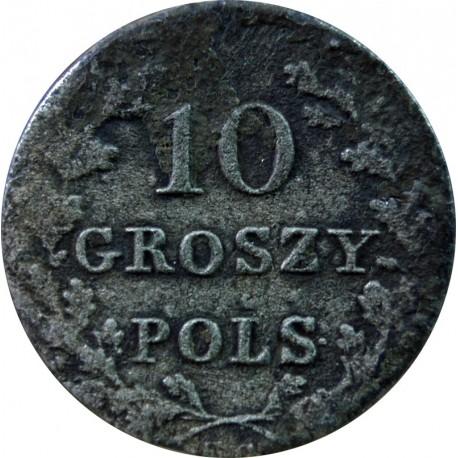 10 groszy, Powstanie listopadowe 183?, proste łapy