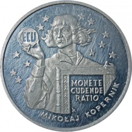 20 zł Mikołaj Kopernik ECU, 1995-bez kapsla