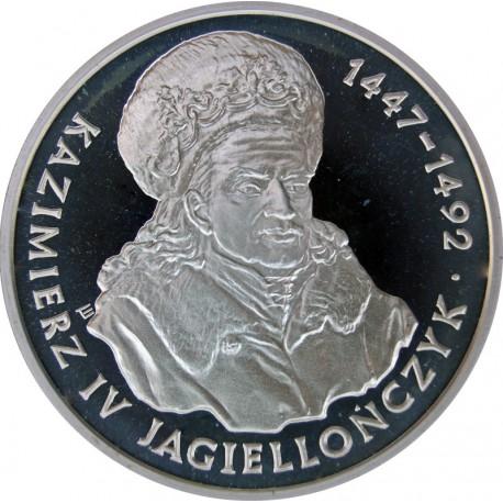 200000 złotych - Kazimierz Jagiellończyk (popiersie)