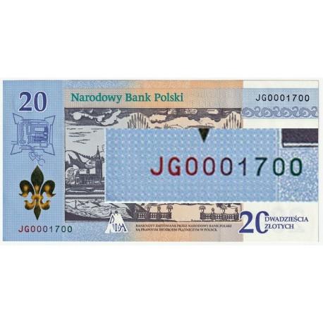 20 zł 300-lecie koronacji obrazu Matki Bożej JG0001700
