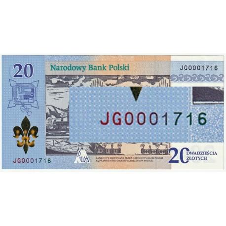 20 zł 300-lecie koronacji obrazu Matki Bożej JG0001716
