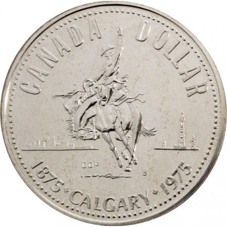 1 Dolar - 100 Lat Calgary 1975 r. - Kanada