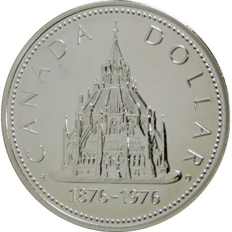 1 Dolar 1976 r. - Biblioteka Parlamentu - Kanada