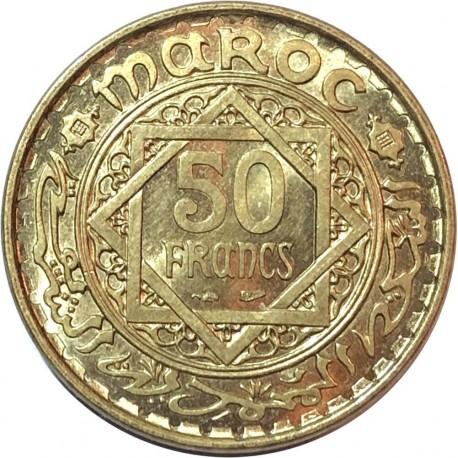 50 franków, Maroco, Protektorat francuski, 1952