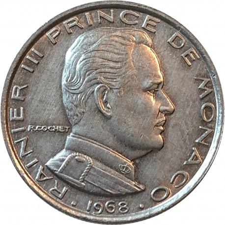 Monako 1 frank, 1968, stan 2+