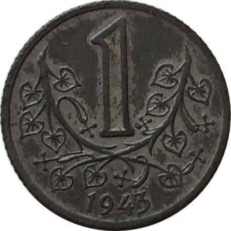 Bohemia i Morawia (Protektorat) 1 korona, 1943, stan 3