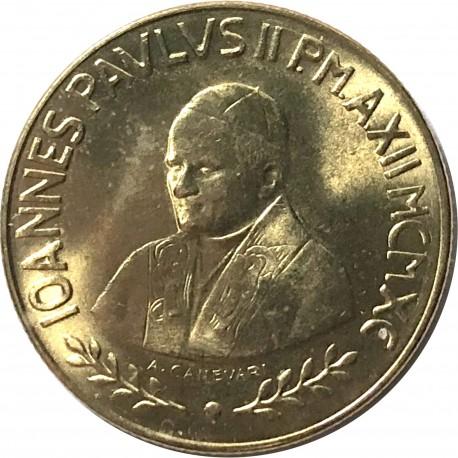 Watykan 200 lirów, 1990, Błogosławiona Dziewica