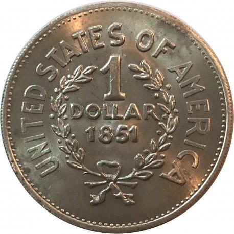 1 Dollar Indian Head (Głowa indianina) - moneta fantazyjna