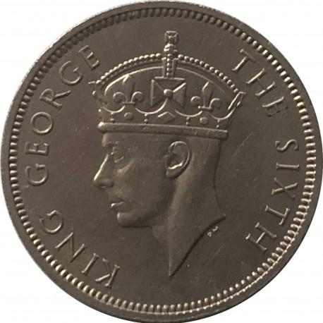Mauritius ½ rupie, 1951