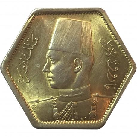 Egipt 2 piastry, 1944, srebro