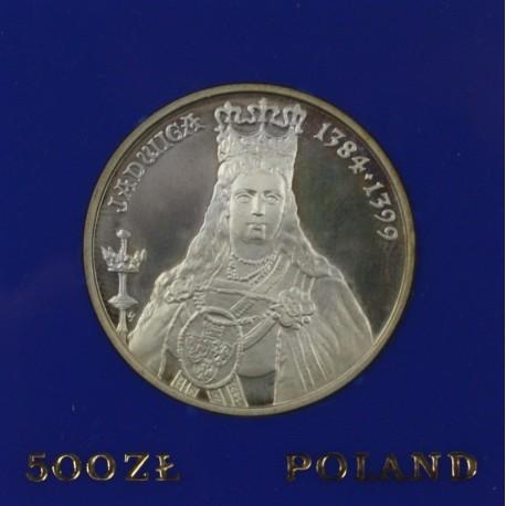 500 zł, Jadwiga, 1988 r.