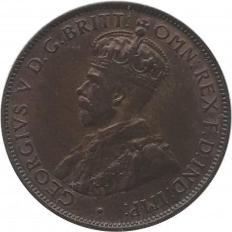 Australia ½ pensa, 1935, stan 2